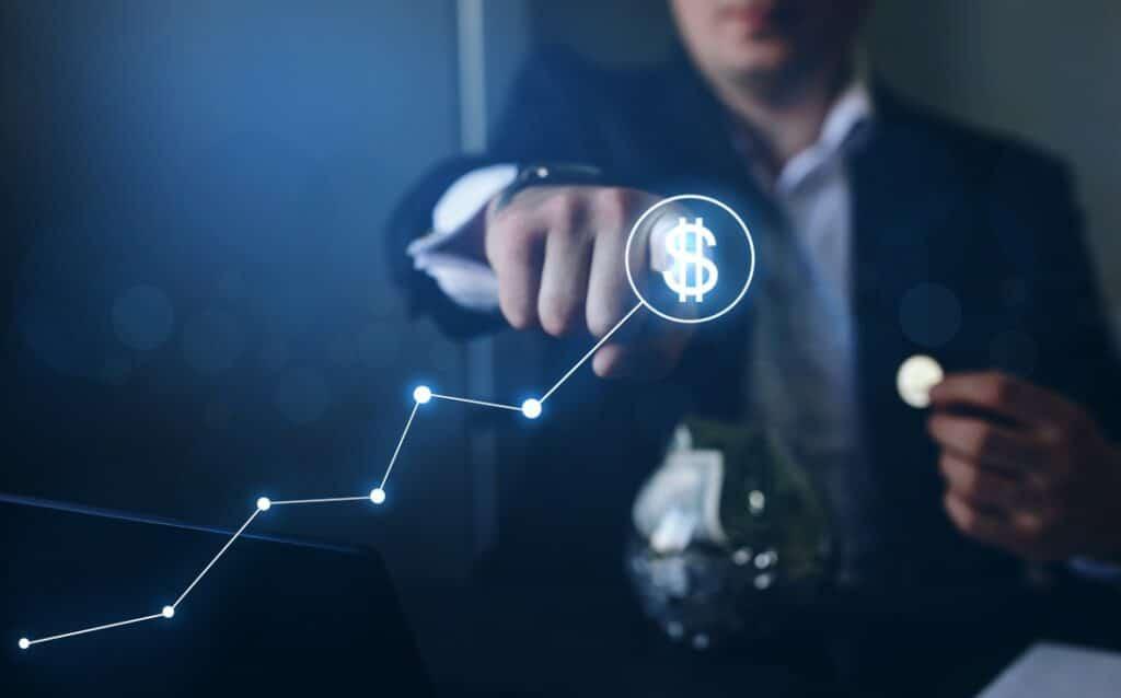 Money growth, capital as a service