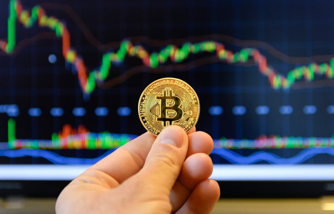 A Bitcoin cryptocurrency